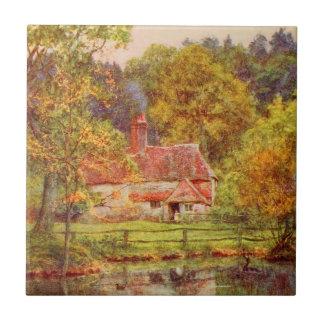 Vintage Garden Art - Allingham Helen Ceramic Tile