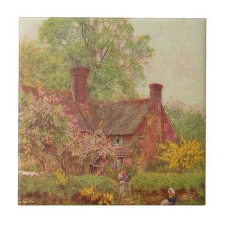 Vintage Garden Art - Allingham Helen Tile