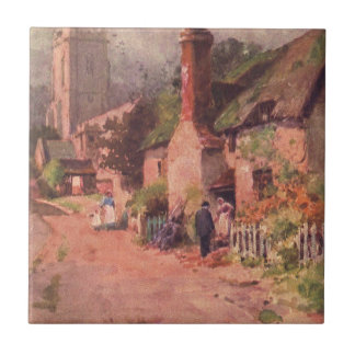 Vintage Garden Art - Ball Wilfrid Tile
