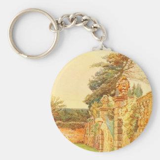 Vintage Garden Art - Elgood George S Key Chains