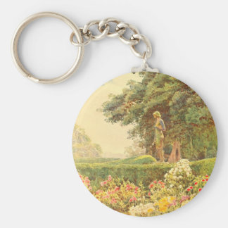 Vintage Garden Art - Elgood George S Keychains