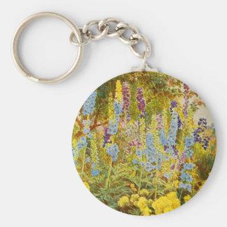 Vintage Garden Art - Elgood George S Key Chain