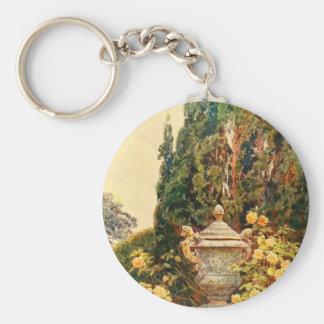Vintage Garden Art - Elgood George S Keychain