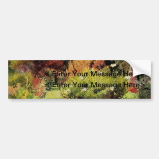 Vintage Garden Art - MacGregor, Jessie Bumper Sticker