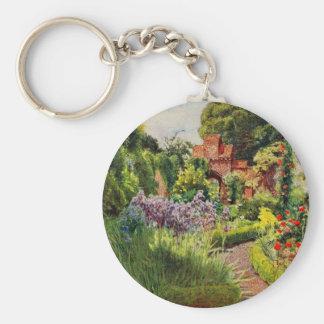 Vintage Garden Art - MacGregor Jessie Key Chain