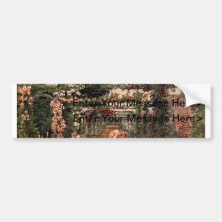 Vintage Garden Art - Martin, Thomas Mower Bumper Sticker