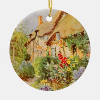 Vintage Garden Art - Nicolls George F Christmas Tree Ornaments