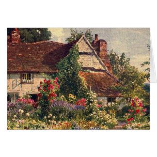Vintage Garden Art - Palmer, Harold Sutton Greeting Card