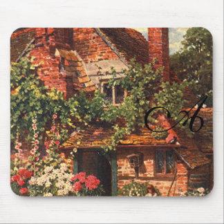 Vintage Garden Art - Palmer, Harold Sutton Mouse Pad