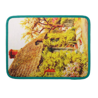 Vintage Garden Art - Quinton Alfred Sleeve For MacBooks