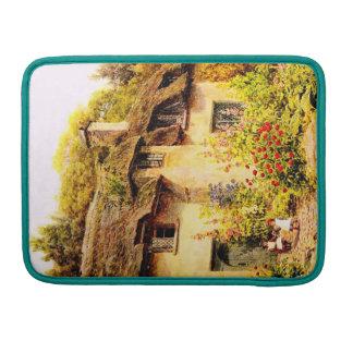 Vintage Garden Art - Quinton Alfred MacBook Pro Sleeve
