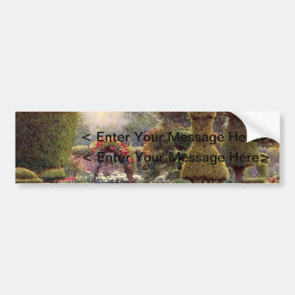 Vintage Garden Art - Rowe, Ernest A. Bumper Sticker