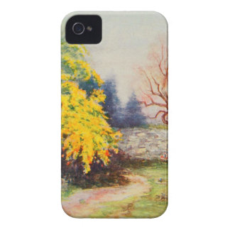 Vintage Garden Art - Steele Zulma deL iPhone 4 Case-Mate Case