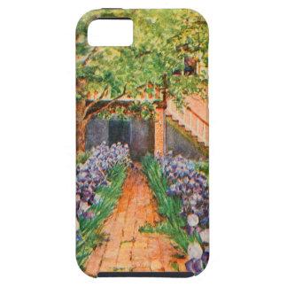 Vintage Garden Art - Steele Zulma deL iPhone 5 Case