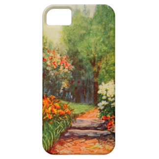 Vintage Garden Art - Steele Zulma deL Cover For iPhone 5/5S