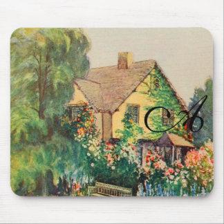 Vintage Garden Art - Steele, Zulma deL. Mouse Pad
