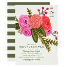 Vintage Garden Bridal Shower Card