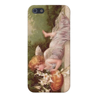 Vintage Garden Fairy iPhone 5 Cover