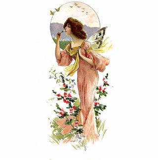 Vintage Garden Fairy Cut Outs