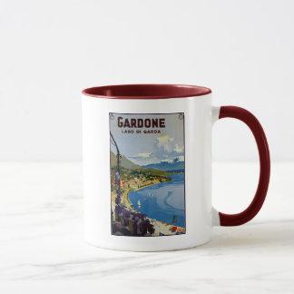 Vintage Gardone Lake Garda Italian travel Mug