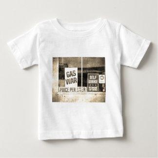 Vintage Gas War Sign Baby T-Shirt