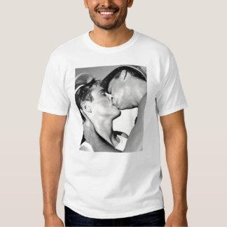 Vintage Gay Men Sailors Kiss Navy DADT T Shirts
