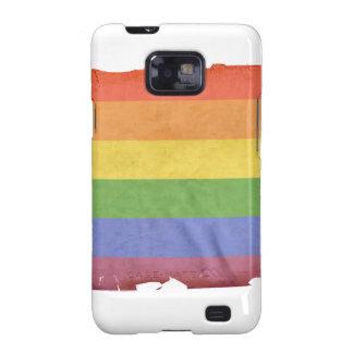 Vintage gay pride flag - samsung galaxy s2 case