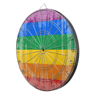 Vintage Gay Pride Flag Dart Boards