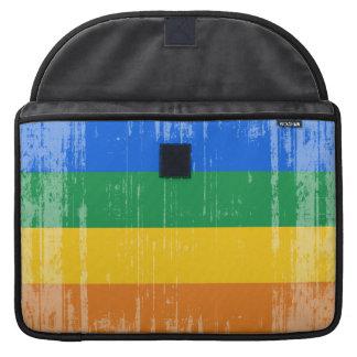 Vintage Gay Pride Flag Sleeve For MacBooks