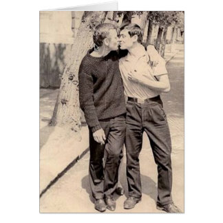 Vintage Gays Card