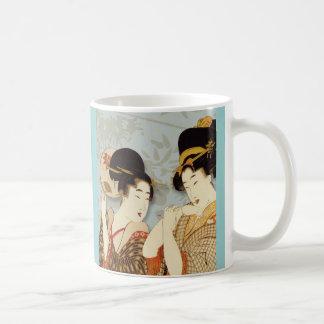 Vintage Geisha Girls Mug