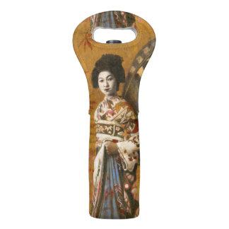Vintage Geisha Wine Tote