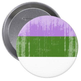 Vintage Genderqueer Pride 10 Cm Round Badge