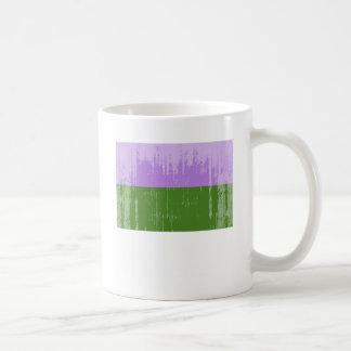 Vintage Genderqueer Pride Coffee Mug