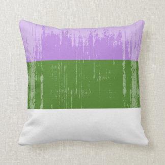 Vintage Genderqueer Pride Throw Cushion