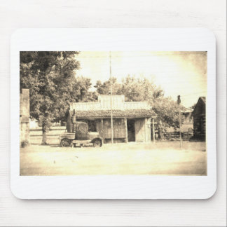 Vintage General Store with Antique Auto Mouse Pad
