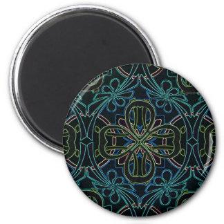 Vintage Geometric Dark Magnets