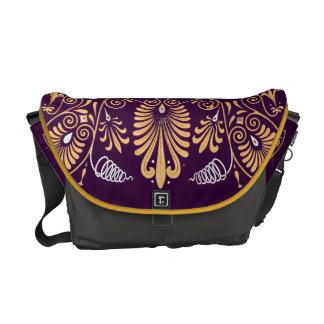 Vintage Geometric Pattern Graphic Bold Design Messenger Bag