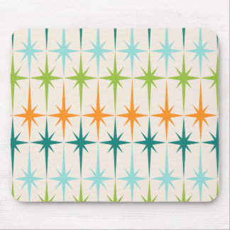 Vintage Geometric Starbursts Mousepad