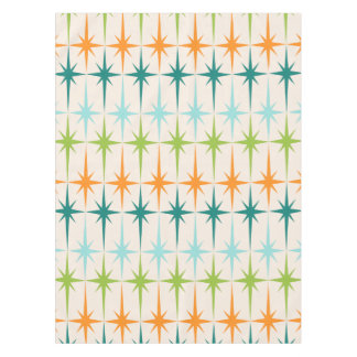 Vintage Geometric Starbursts Tablecloth