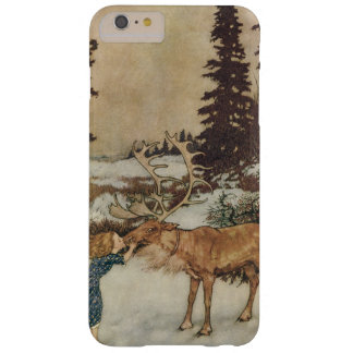 Vintage Gerda and the Reindeer by Edmund Dulac Barely There iPhone 6 Plus Case