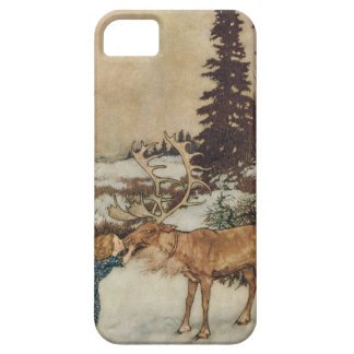 Vintage Gerda and the Reindeer by Edmund Dulac Case For The iPhone 5