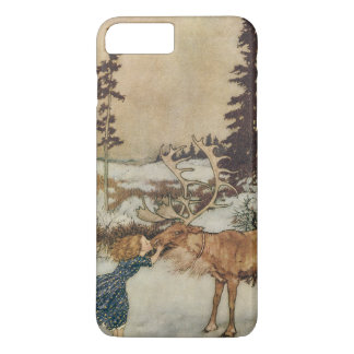 Vintage Gerda and the Reindeer by Edmund Dulac iPhone 8 Plus/7 Plus Case