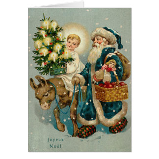 Vintage German Christmas Card