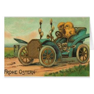 Vintage German Easter Card