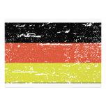 Vintage German Flag Invite