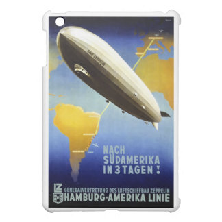 Vintage German Travel Poster iPad Mini Cases