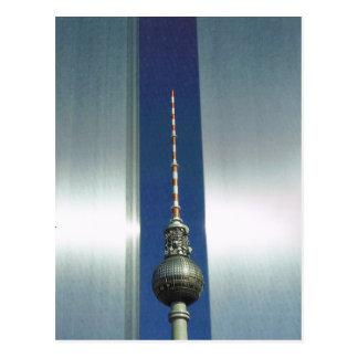 Vintage Germany, Berlin, Television tower Postcard