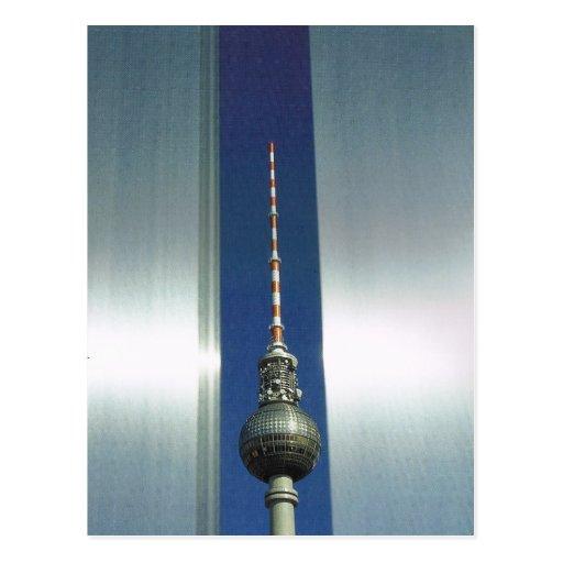 Vintage Germany, Berlin, Television tower Postcards