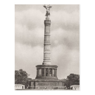 Vintage Germany, Siegessaule Column Postcard
